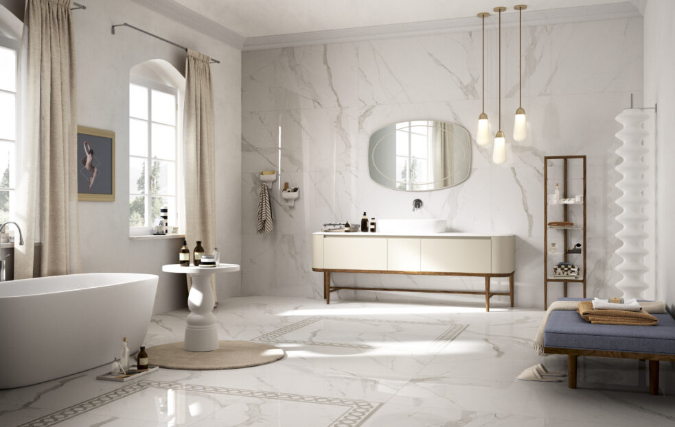 Bathroom Tiles from Caledonian Stone