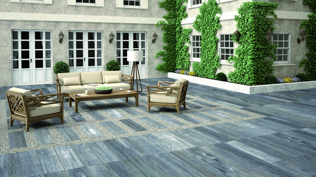 New home trends-Porcelain Paving