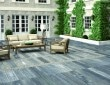 Patio with porcelain paving - New home trends