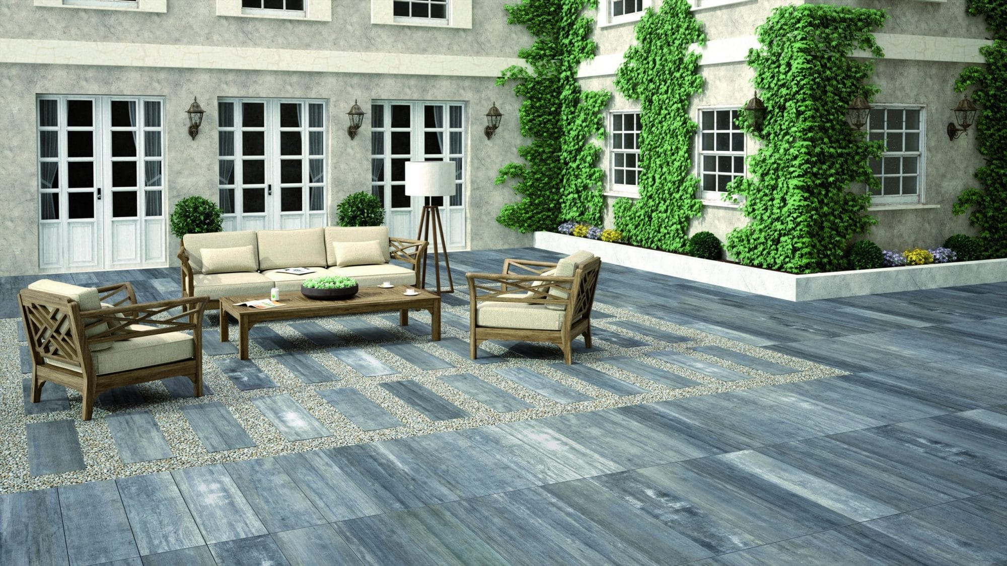 New Home Trends – Porcelain Paving