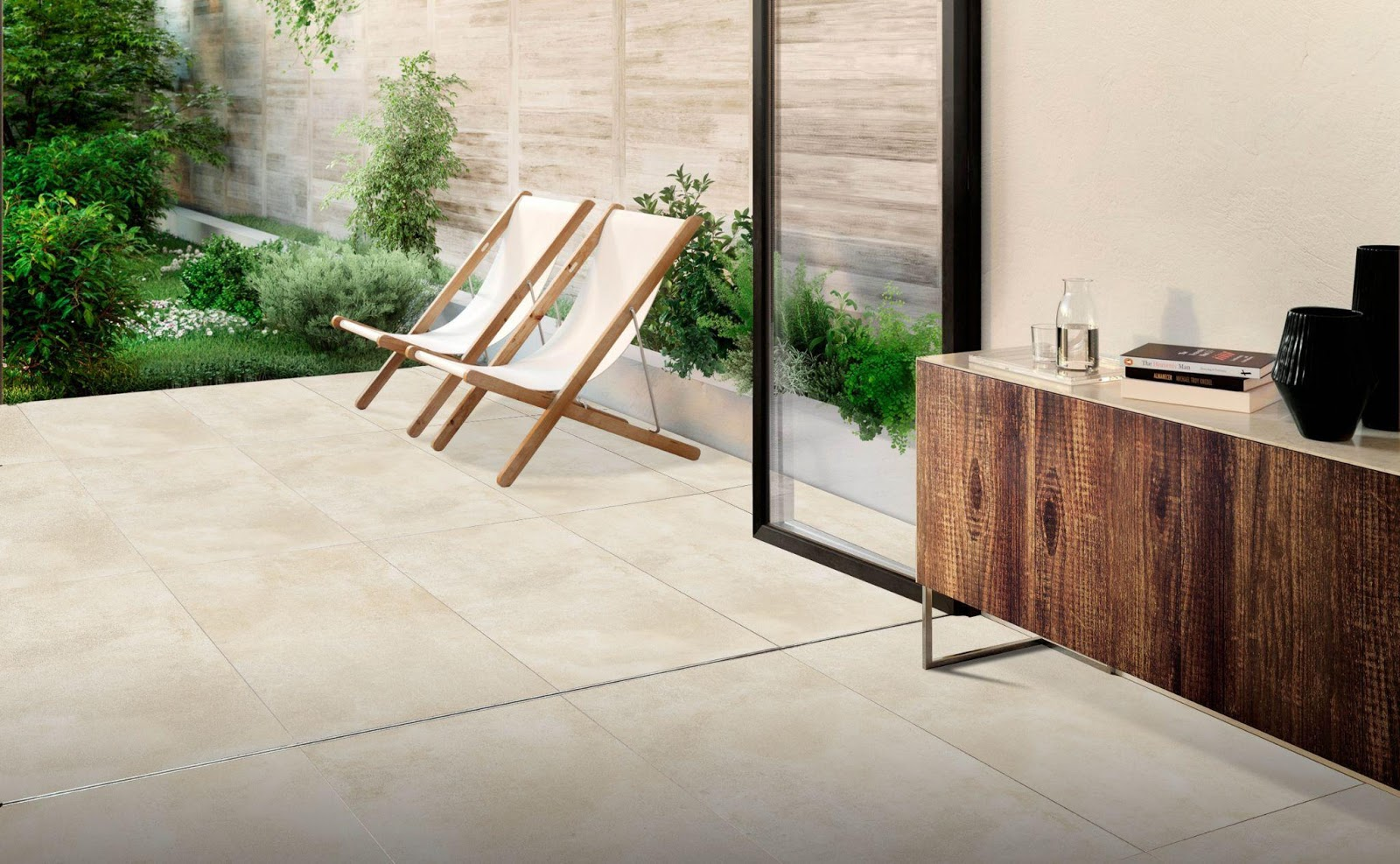 Create an Inside to Outside Flow with Indoor Outdoor Porcelain Tiles