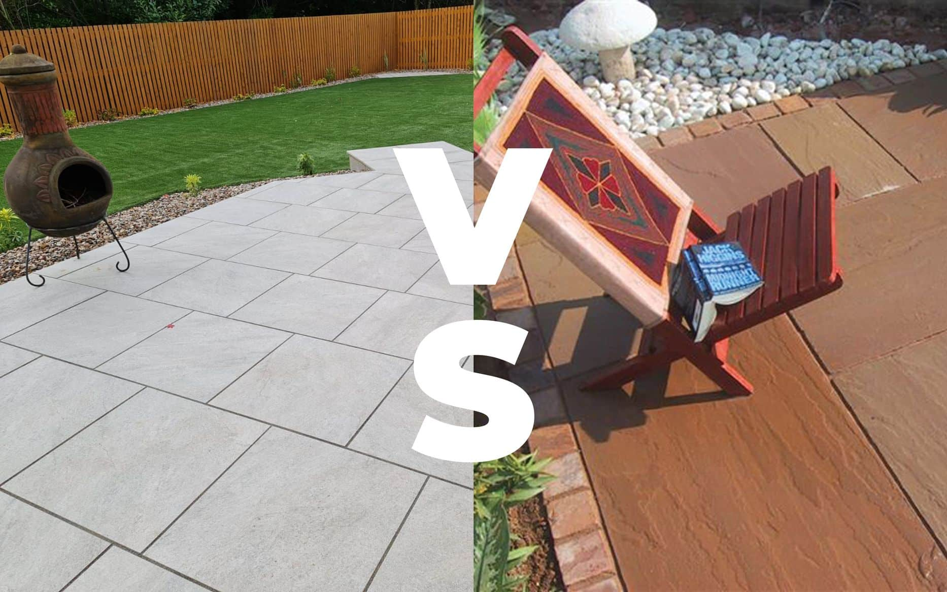 Porcelain or Natural Stone – which is best for landscapers?